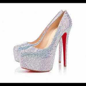 Christian Louboutin Crystal pump replicas